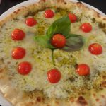 Pizza al pesto geneovese