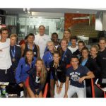 USA and Austria voleibol teams