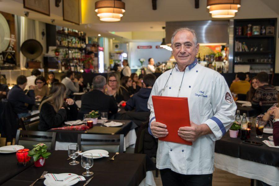 Um restaurante italiano também para vegetarianos e com opções gluten free